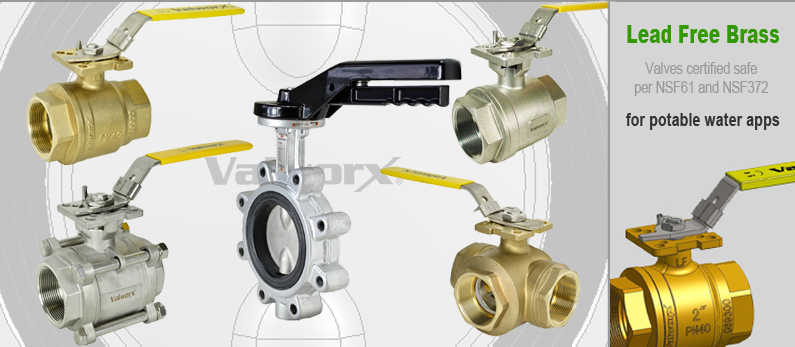 Ball Valves and Butterfly Valves