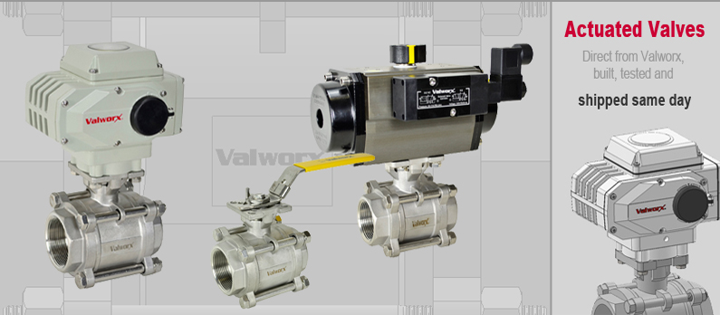 3-Piece Stainless Steel Ball Valves