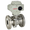 Electric Actuated Stainless Flanged Ball Valves - 115v to 240v