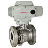 Electric Actuated Stainless Flanged Ball Valves - 12v to 24v