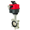 Electric Actuated Butterfly Valves Lug Style - Multi-Voltage