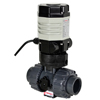 Electric Actuated PVC Ball Valves - Compact