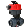 Electric Actuated PVC Ball Valves - Multi-Voltage