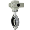 Electric Actuated Butterfly Valves Wafer Style - Positioner